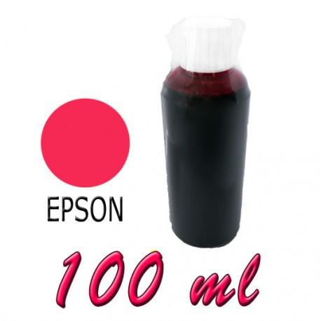 TUSZ JADALNY - CZERWONY/MAGENTA 100ml EPSON