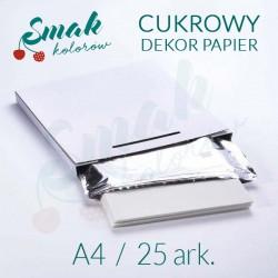 Papier cukrowy Dekor Papier 25 ark. A4