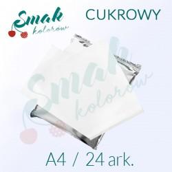Papier cukrowy A4 24 ark.